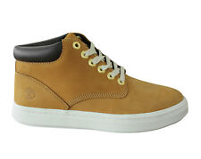 Timberland Londyn Chukka Nubuck Leather Womens Boots Wheat Trainers A1IT2 D49