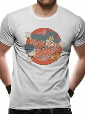 Tom and Jerry Retro Logo T-shirt
