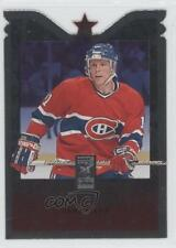 1995-96 Donruss Elite Die-Cut #67 Saku Koivu Montreal Canadiens Hockey Card