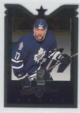 1995-96 Donruss Elite Die-Cut #27 Wendel Clark Toronto Maple Leafs Hockey Card
