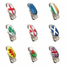 NATIONAL FLAG TOUR HAT OR CAP CLIP AND MAGNETIC BALL MARKER BY ASBRI GOLF