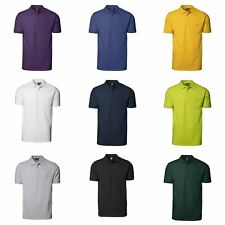 ID Mens Pro Wear Short Sleeve Regular Fitting Polo Shirt With Pocket (ID172)