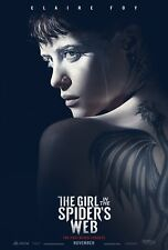 THE GIRL IN THE SPIDERS WEB POSTER A4 A3 A2 A1 CINEMA MOVIE LARGE FORMAT