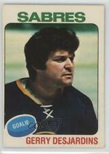 1975-76 O-Pee-Chee #125 Gerry Desjardins Buffalo Sabres Hockey Card