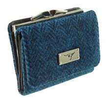 Ladies 100% Harris Tweed Clasp Purse Available in 5 Colours New - LB2113