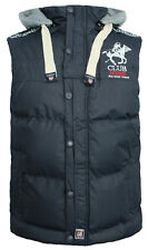 Geographical Norway Cappuccio Uomo Gilet Imbottito Canotta Navy WK098HGN Wh / A