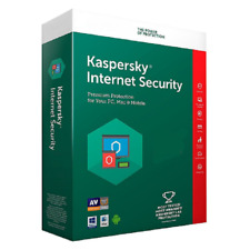 Kaspersky Internet Security 2019 1, 2, 3, 4, 5, 10 dispositivos PC, Mac, Android
