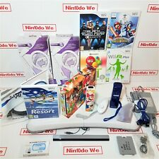 Custom Nintendo Wii console family bundle=Fit plus Balance board-Bowling-Mario++