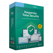 Kaspersky Total Security 2019 1, 2, 3, 4, 5, 10 appareils - PC, Mac, Android