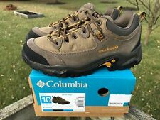 Columbia Birkie Trail Hiking Shoe Mens Brown Mud Various Sizes