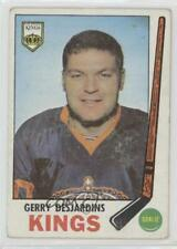 1969-70 O-Pee-Chee #99 Gerry Desjardins Los Angeles Kings RC Rookie Hockey Card