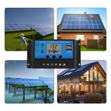 10/20/30A 12V 24V Solar Panel Controller Regulator Charge Battery Protection LCD