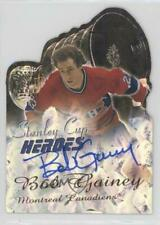 2000 Topps Stanley Cup Heroes Autograph Autographed #SCH-BG Bob Gainey Auto Card