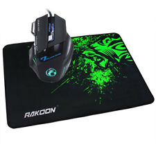Latest 5500 DPI 7 Button LED Optical USB Wired Gaming Mouse Mice+Gaming Mat Gift
