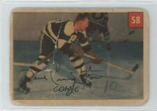 1954-55 Parkhurst #58.1 Dave Creighton (Base) Boston Bruins Hockey Card