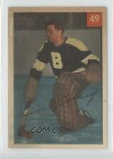 1954-55 Parkhurst #49.1 Jim Henry (Base) Boston Bruins Hockey Card