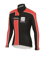 Sportful Giacca Gruppetto Partial WS Windstopper Jacket, Black/Red Fire
