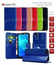 For Huawei Enjoy 8e Youth (2018) Premium Leather Wallet Card Storage Book Cover