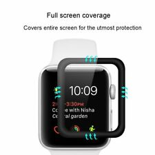 3D Glass Screen Protector Cover for Apple Watch 38mm 42 mm Mesh Tempered Glass