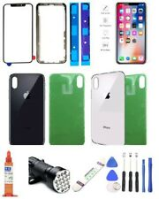 iPhone X Screen Replacement Back Glass & Front Touch Screen Glass Lens Tool Kit