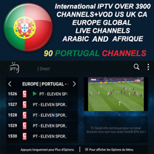 1 months  International Iptv Subscription Over 4200 Ch+Vod Android MAG M3U