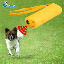 3 In 1 Portable LED Anti Barking Stop Bark Dog Training Device Repeller Control
