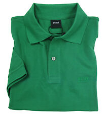 Hugo Boss Polo Uomo Ferno Regular Fit Verde 100% Cotone con Logo