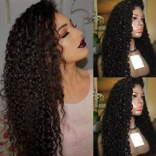 Unprocessed Brazilian Glueless Human Hair Wigs Full Lace With Baby Hair Straight