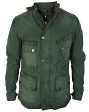 Barbour Internazionale Giacca Uomo Salvia Regular Fit Weathered Green 100%