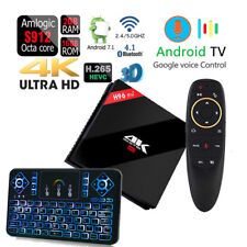 H96 Pro+ Plus Octa Core Google Play Dual WiFi Android 7.1 TV Box+VOICE CONTROL