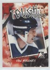 2005 In the Game Enforcers Tough Customers TC-DM Dan Maloney Toronto Maple Leafs