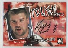 2005-06 In the Game Enforcers #A-KC Kelly Chase Auto Autographed Hockey Card