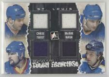 2011 In the Game Enforcers #TF-06 Kelly Chase Basil McRae Tony Twist Tyson Nash
