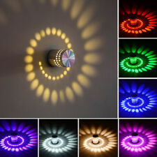 LED Wall Lamp Night Light Corridor Ceiling Bathroom Bedroom Seven Color Simple R