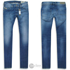 DIESEL Jeans | Belther ( Regular-Slim-Tapered ) navy blue treated STRETCH