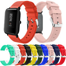 Sport Soft Silicon Accessory Watch Band Wirstband For Huami Amazfit Bip Watch
