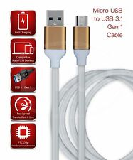 For Verizon Wireless Ellipsis 8 HD Charger Fast Speed Data Sync Micro USB Cable