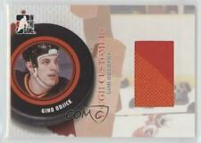 2005 In the Game Tough Customers Game-Used Jersey GUJ-GO Gino Odjick Hockey Card