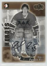 2004-05 In the Game Heroes and Prospects #A-PRO Patrick Roy Auto Hockey Card