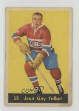 1960-61 Parkhurst #52 Jean-Guy Talbot Montreal Canadiens Hockey Card