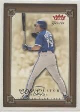 2004 Fleer Greats of the Game #104 Paul Molitor Toronto Blue Jays Baseball Card