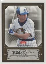 2006 Fleer Greats of the Game Copper #69 Paul Molitor Milwaukee Brewers Card