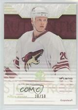 2003-04 SP Authentic Limited #116 Fredrik Sjostrom Phoenix Coyotes Hockey Card