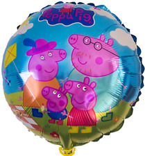 """3 Pack - PEPPA PIG & FAMILY BALLOON 18"""" FOIL  - BIRTHDAY PARTY SUPPLIES"""