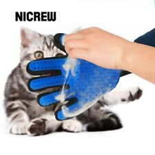 Pet Cat Dog Grooming Bath Magic Glove Hair Massage Mitt Fur Cleaning Comb Brush