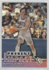 1999 Topps Impact Refractor #I11 Keith Van Horn New Jersey Nets Basketball Card