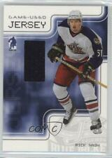 2003 In the Game Be A Player Memorabilia Game-Used Jersey #GJ-10 Rick Nash Card