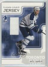 2003 In the Game Be A Player Memorabilia Game-Used Jersey #GJ-6 Mats Sundin Card