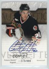 2003-04 SP Authentic #140 Antoine Vermette Ottawa Senators Auto RC Hockey Card