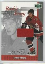 2003 In the Game Parkhurst Rookie Jersey #RJ-45 Antoine Vermette Ottawa Senators